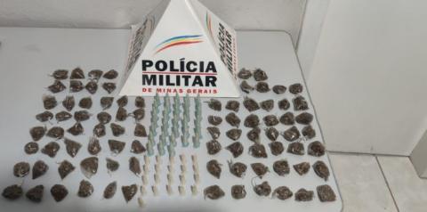 Drogas encontradas em mineradora