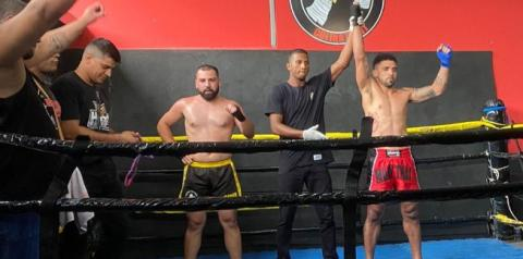 Wellington Nunes vence campeonato de Muay Thai