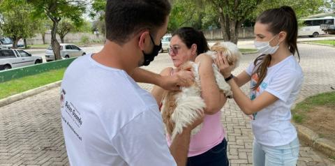 """Prefeitura de Baixo Guandu realiza dia """"D"""" de vacinação antirrábica animal"""