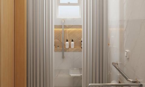 Projeto de banheiro acessível - Rodrigo Mozer