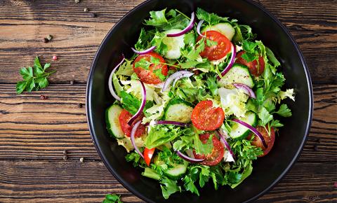 Formas de variar sua salada!