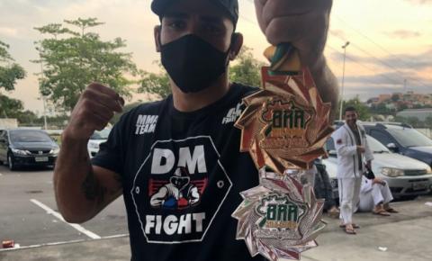 Wellington Nunes (Javali)  é campeão no X-Combat