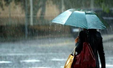 Alerta de chuva em Baixo Guandu