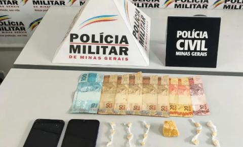 Operação conjunta da Polícia Civil e Militar resulta apreensão de arma de fogo e prisão de 03 autores de tráfico.