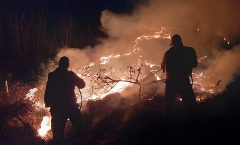 Incêndio em Baixo Guandu