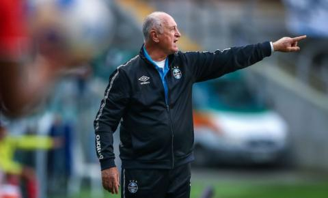 Felipão deixa comando técnico do Grêmio após derrota para Santos
