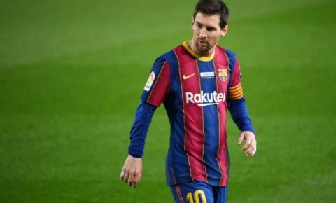 Jornal afirma que messi vai renovar com o Barcelona