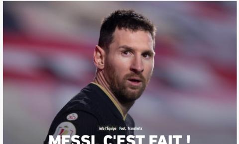 Messi finaliza acordo com o PSG e viajará a Paris nas próximas horas; pai confirma acerto